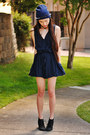 Chiffon-ax-paris-romper-spiked-headband-oasap-accessories