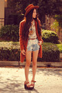 Fuzzy-wasteland-coat-paradox-shorts-flower-child-o-mighty-top