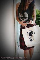 Series skirt - thailand top - Aries bag