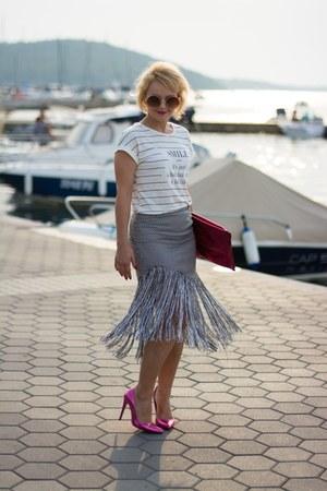 New Yorker shirt - Choies skirt