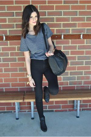 5e238d715b671 Dr Denim jeans - Lipstik boots - Alexander Wang bag