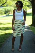 lime green H&M Trend skirt