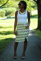 lime green H&M Trend skirt
