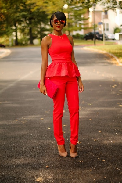 red H&M Trend shirt
