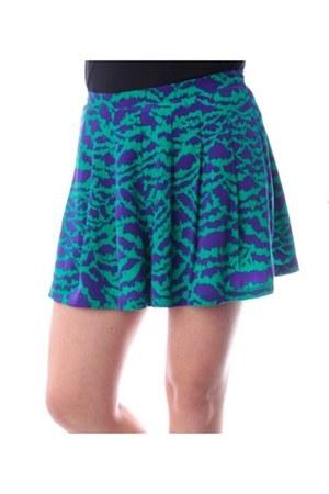 purple print shorts Mustard Seed shorts