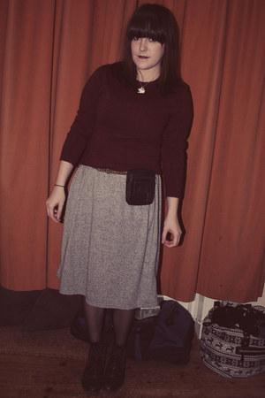 Topshop dress - Primark jumper
