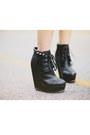 Black-diy-boots-brown-suede-bcbg-jacket-black-studded-bcbg-skirt