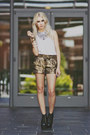 Black-jeffrey-campbell-boots-gold-metallic-bcbg-shorts