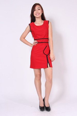 slanted pocket luvenuecom dress