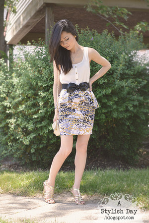 Chain Print skirt