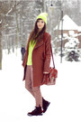 Crimson-wool-sheinside-coat-crimson-red-romwe-bag