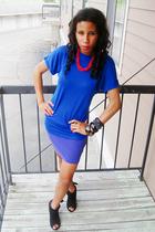 Target shirt - H&M skirt - ForeverLove shoes - vintage necklace - vintage access
