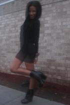 Rainy Day, i love black
