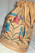beige unsigned purse