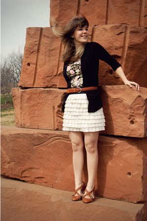 white modcloth skirt - brown f-troupe via buy definition shoes