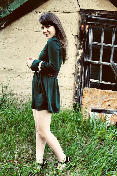 asian icandy dress - Jeffrey Campell heels - Urban Outfitters belt