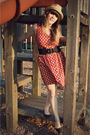 Red-vintage-via-the-upside-of-wonder-etsy-dress-black-sam-libby-shoes-blac