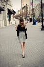Black-forever-21-top-gray-modcloth-skirt-black-sam-libby-shoes-black-dol
