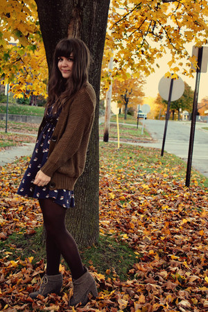 light brown Shop Ruche cardigan - light brown Blowfish Shoes boots