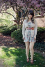 White-finders-keepers-dress-beige-old-navy-cardigan-beige-urban-outfitters-t