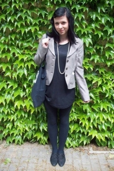 Street One blazer - H&M shirt - second hand shoes