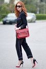 Zara-blazer-cambridge-satchel-company-bag-emporio-armani-sunglasses