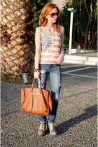 balenciaga bag - abercrombie and fitch jeans - Alexander McQueen sunglasses