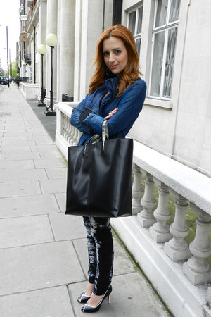 Zara bag - Christian Louboutin shoes - J Brand jeans - Helmut Lang jacket