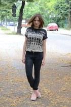 Zara shirt - River Island pants - Adidas sneakers