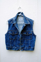 denim vest calvin klein vest