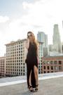 Black-urban-outfitters-top-black-wet-seal-skirt-black-forever-21-heels