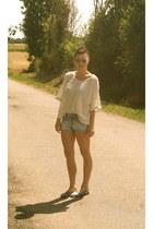sky blue HetM shorts