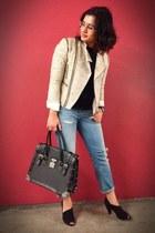 Besso bag - Vigotti boots - boyfriend mauro grifoni jeans