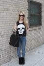 Sky-blue-bdg-jeans-black-zara-bag-black-ray-ban-sunglasses