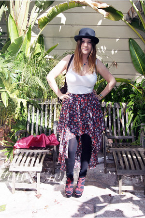 arc and co skirt - Forced Outsider bag - Karmaloop heels