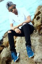 Adidas boots - pull&bear t-shirt