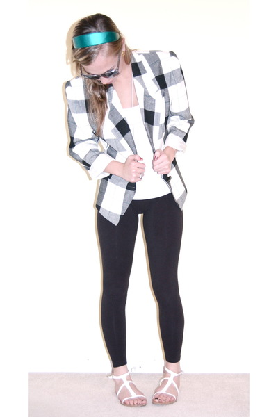jacket - accessories - leggings - forever 21 shoes - sunglasses