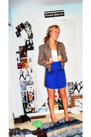 Sid Nancy skirt - Old Navy shirt - forever 21 jacket - Target shoes