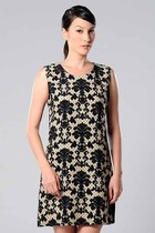 baroque printed Azorias dress