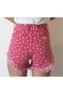 Red-omen-eye-shorts