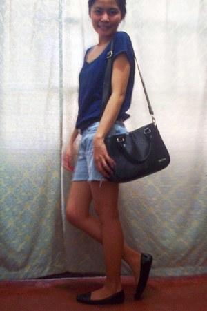 black Secosana bag - navy Kamiseta t-shirt