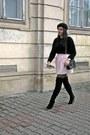 Black-primark-boots-black-h-m-hat-black-primark-sweater-black-zara-bag