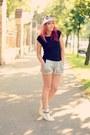 Romwe-shorts-glassseshop-sunglasses-giuseppe-zanotti-sneakers