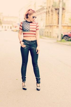 Choies top - Choies heels