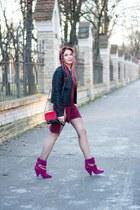 Jessica Buurman boots - Mango jacket - Choies bag - Steve Madden sunglasses