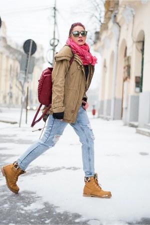 Panama Jack boots - Choies jeans - Bershka jacket