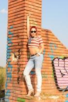 Ray Ban sunglasses - romwe top