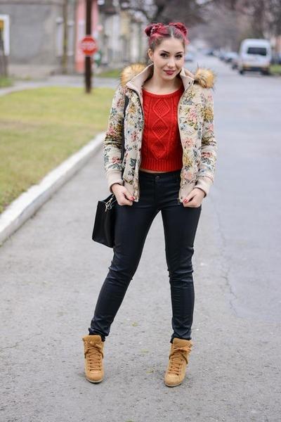 Choies jacket - Choies jacket - romwe sweater - PERSUNMALL bag