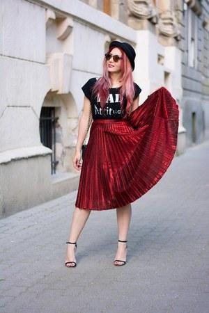 Choies skirt - Diane Von Furstenberg bag - Choies sandals