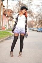 Mango boots - Choies shorts